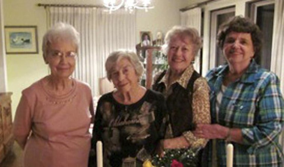 Photo - Left: Nancy Leftwich, Jo Ann Adams, Jacki Murphy, Kaye Jeffries. PHOTO PROVIDED