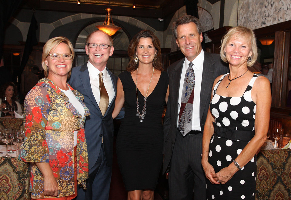 Photo -  Suzanne Peck, David Neff, Aimee Harlow and Stu and Mary Moore also supported the Arts.
