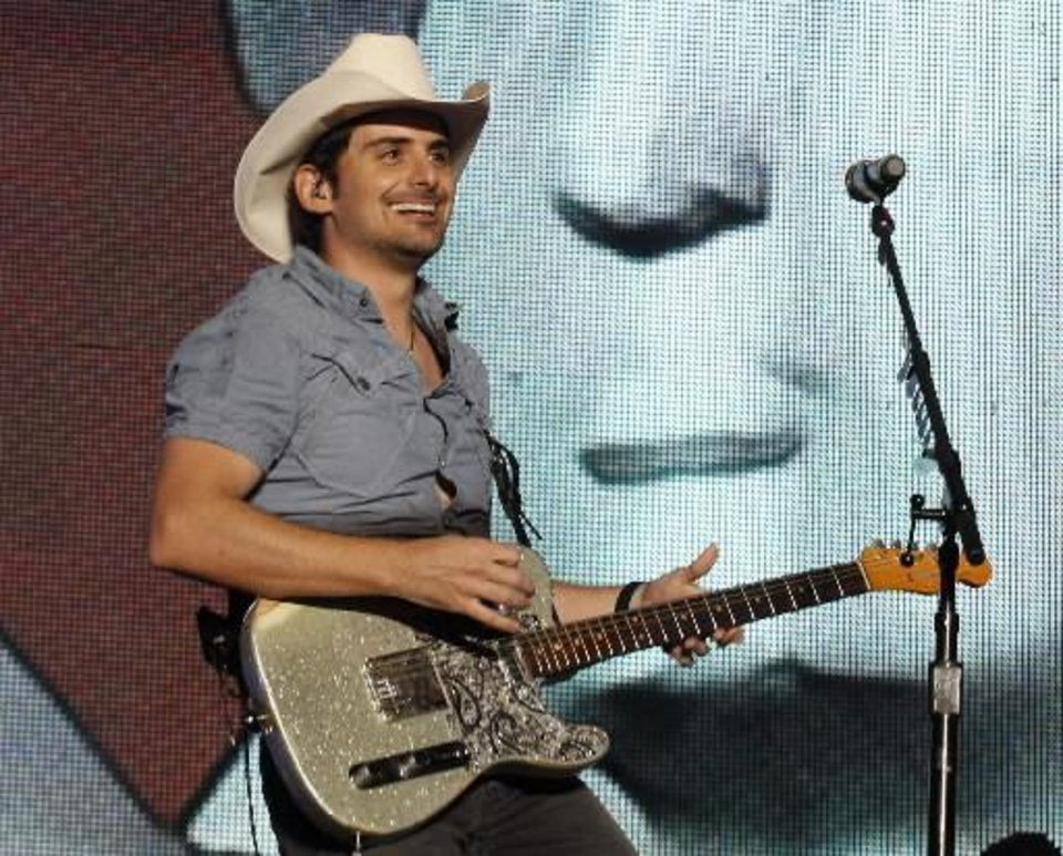 Photo -  Brad Paisley (AP file)