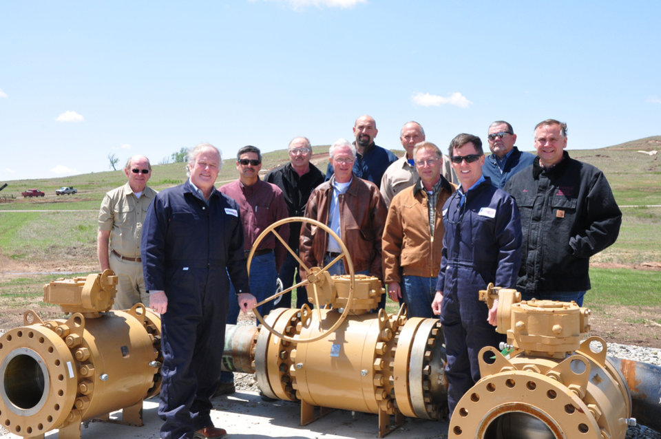 Oklahoma City-based Chaparral Energy this month began operations on the third beginning for the historic North Burbank field in Osage County. <strong> - provided</strong>
