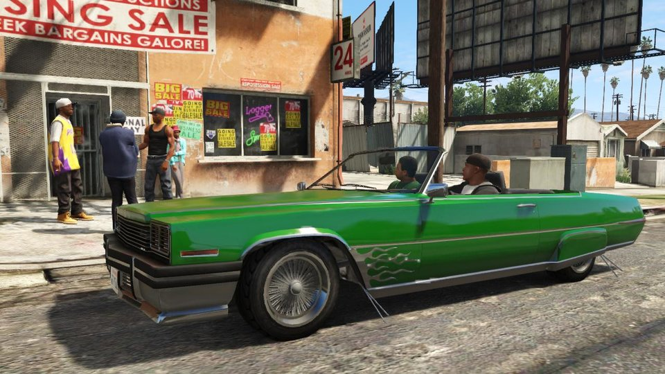 Photo - FILE - This publicity photo released by Rockstar Games shows a screen shot from the video game,