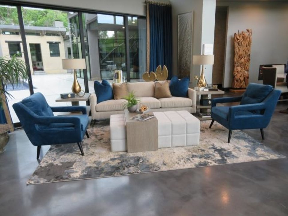 Photo -  A view inside this year's Symphony Showhouse, set for June 13-28, at 2737 Guilford Lane. [PHOTO PROVIDED]