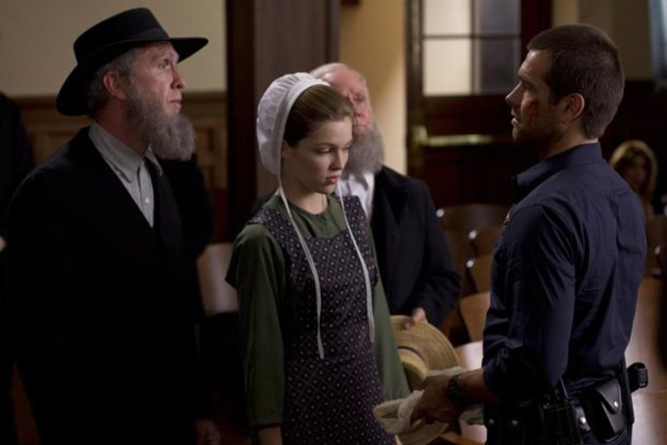 Photo -  From left, Alpha Trivette, Lili Simmons, Steve Coulter, Antony Starr - Photo courtesy of Fred Norris/Cinemax