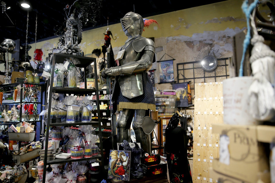 Photo -  Items for sale inside Craig's Curious Emporium in Oklahoma City, Wednesday, March 20, 2019. Photo by Bryan Terry, The Oklahoman