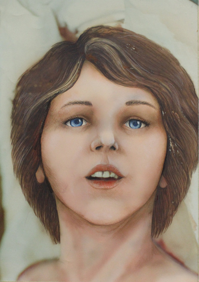 Photo -  Composite drawing of the woman known to detectives as the Lime Lady.        -  Drawing provided