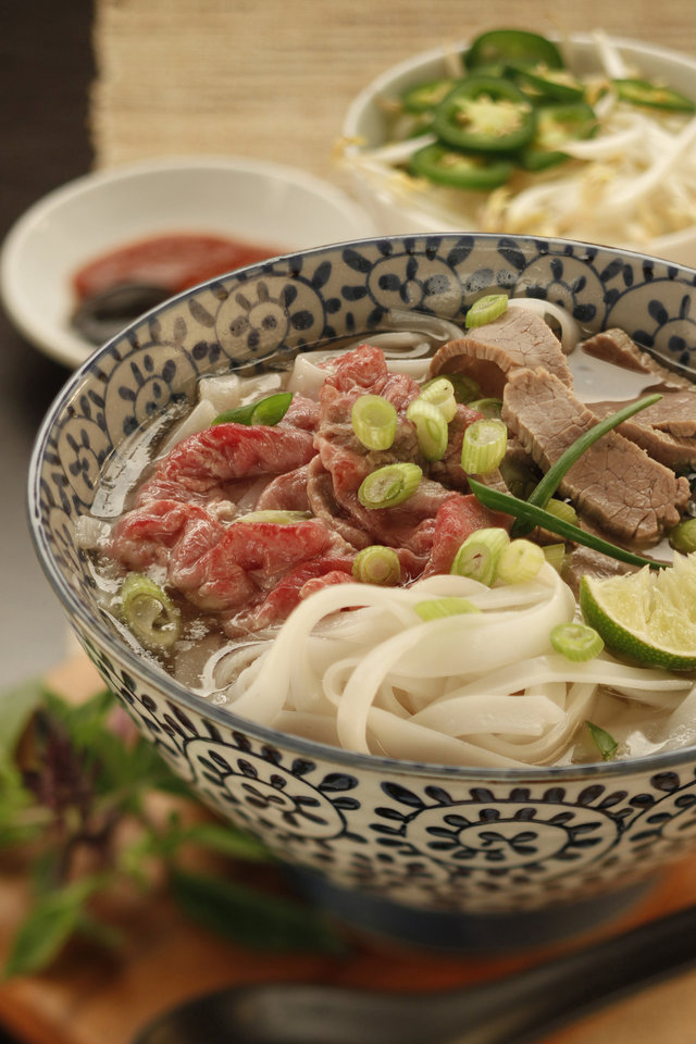 Pho, the Vietnamese soup, is the country's richly complex gift to the world. The deeply flavored pho broth is paired with noodles and meat, usually beef or chicken. (Chris Walker/Chicago Tribune/MCT)
