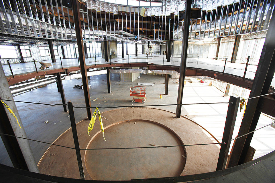 Photo - American Indian Cultural Center and Museum in Oklahoma City, Friday December, 9,  2011.Photo by Steve Gooch, The Oklahoman.