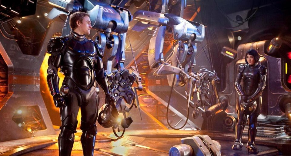 "From left, Charlie Hunnam and Rinko Kikuchi appear in ""Pacific Rim."" Walt Disney Pictures photo <strong></strong>"