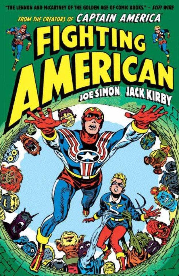 Photo - Fighting American by Simon and Kirby [Titan]