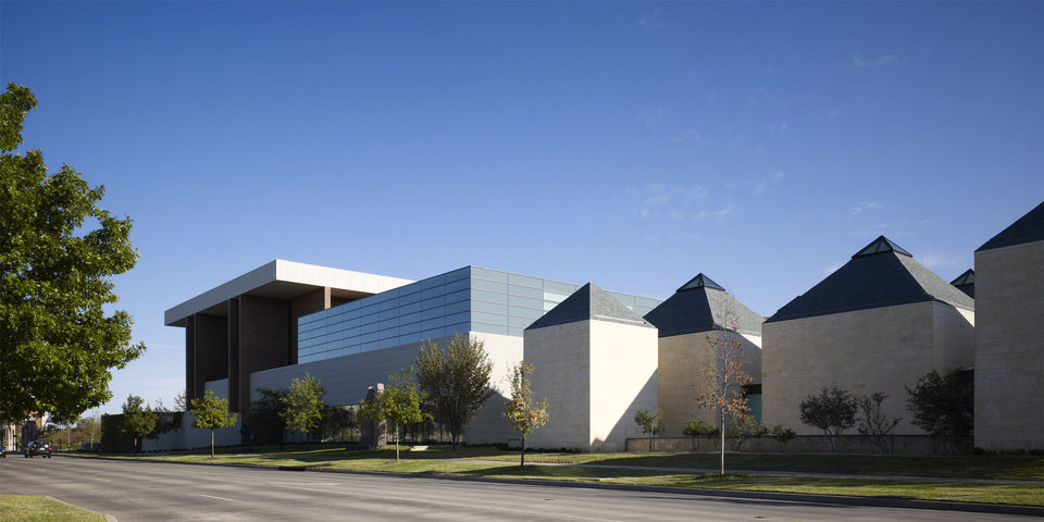 The 54,570-square-foot, $13 million Stuart Wing and Adkins Gallery at the University of Oklahoma�s Fred Jones Jr. Museum of Art in Norman. PHOTO PROVIDED BY ELLIOTT + ASSOCIATES