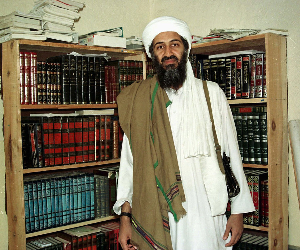 Photo - FILE - In this April 1998 file photo, al Qaida leader Osama bin Laden is seen in Afghanistan. A person familiar with developments said Sunday, May 1, 2011 that bin Laden is dead and the U.S. has the body. (AP File Photo) ORG XMIT: NY204