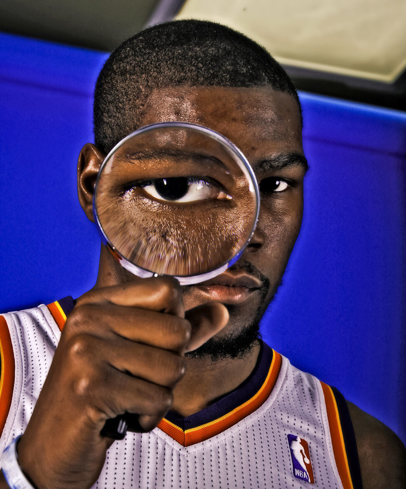 Photo - Kevin Durant and the Thunder will play a shrunken season: 66 games. Photo by Chris Landsberger, The Oklahoman