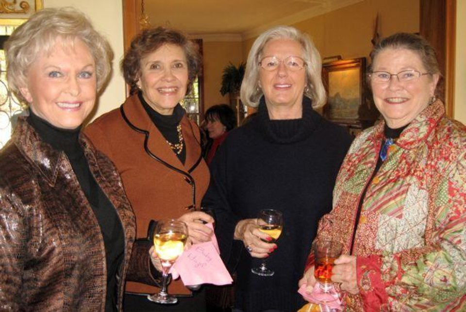 SUGAR AND SPICE....Jessie Ann Wallentine, Carol Magness, Sandy  Shapard and Marcia Powell. (Photo by Helen Ford Wallace).
