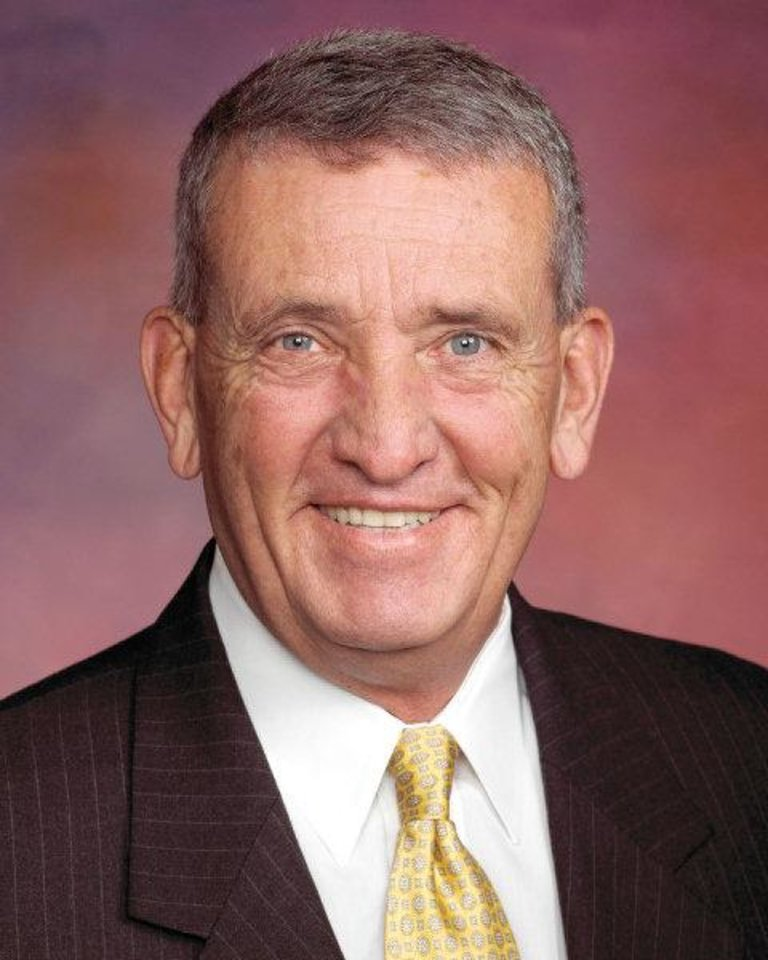 Photo - Tommy Franks , 2011 inductee into the Oklahoma Hall of Fame.  Provided