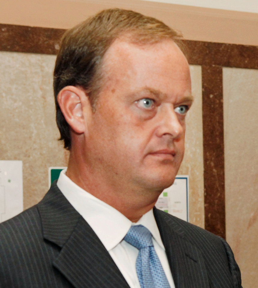 Photo - Oklahoma County  Assistant District Attorney Scott Rowland.  Photo by Jim Beckel, The Oklahoman Archives.