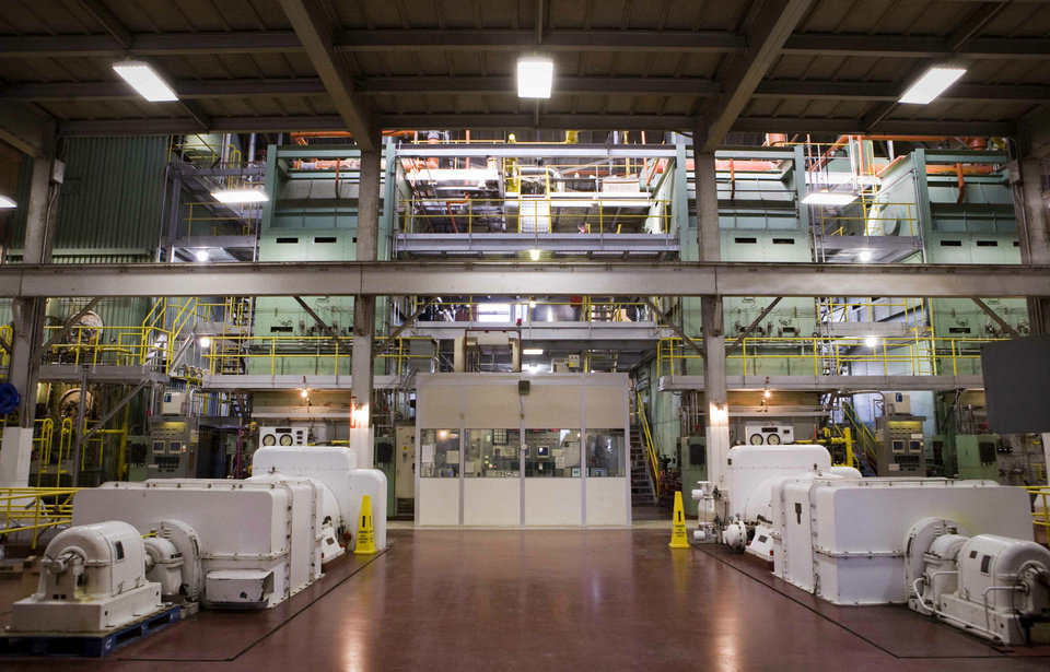 Photo - A power plant is shown at Oklahoma State University in Stillwater. Photo provided by Gary Lawson