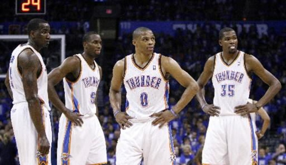 His stas don\'t sugesst it, but Russell Westbrook has been at the center of the Thunder\'s success against San Antonio.