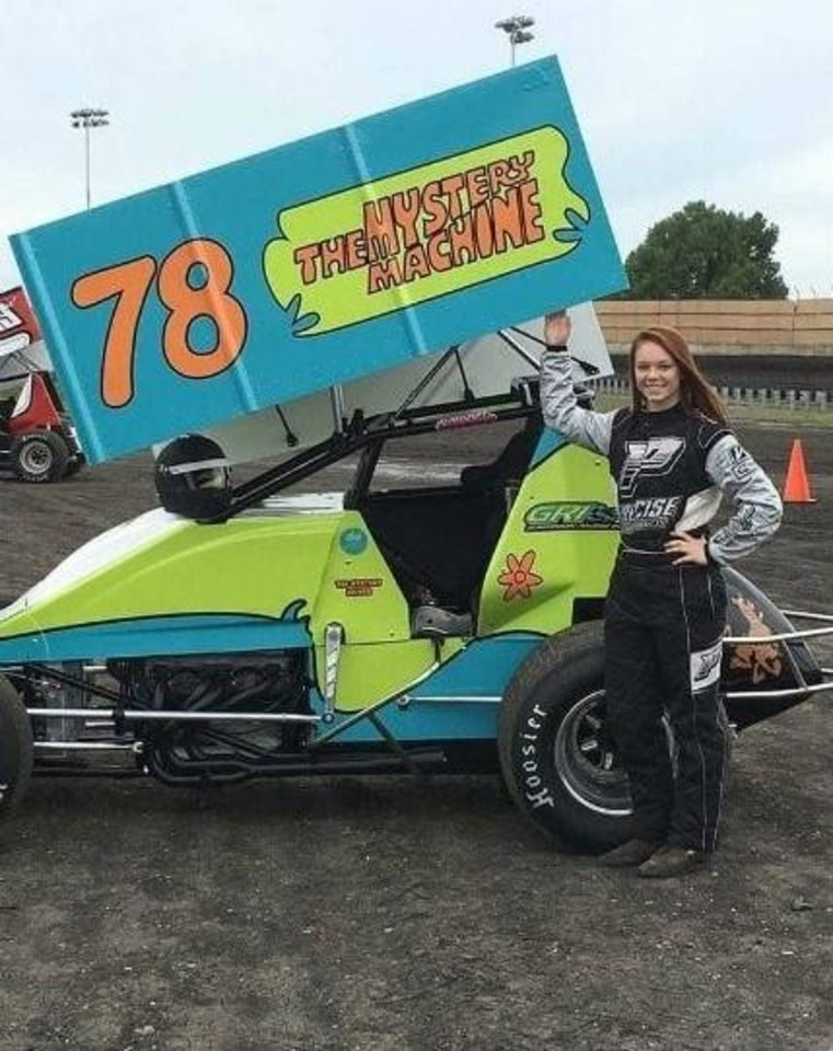 Photo -  Oklahoma Christian University basketball player Connor Atkinson also is an accomplished driver in dirt track racing. [PHOTO PROVIDED]