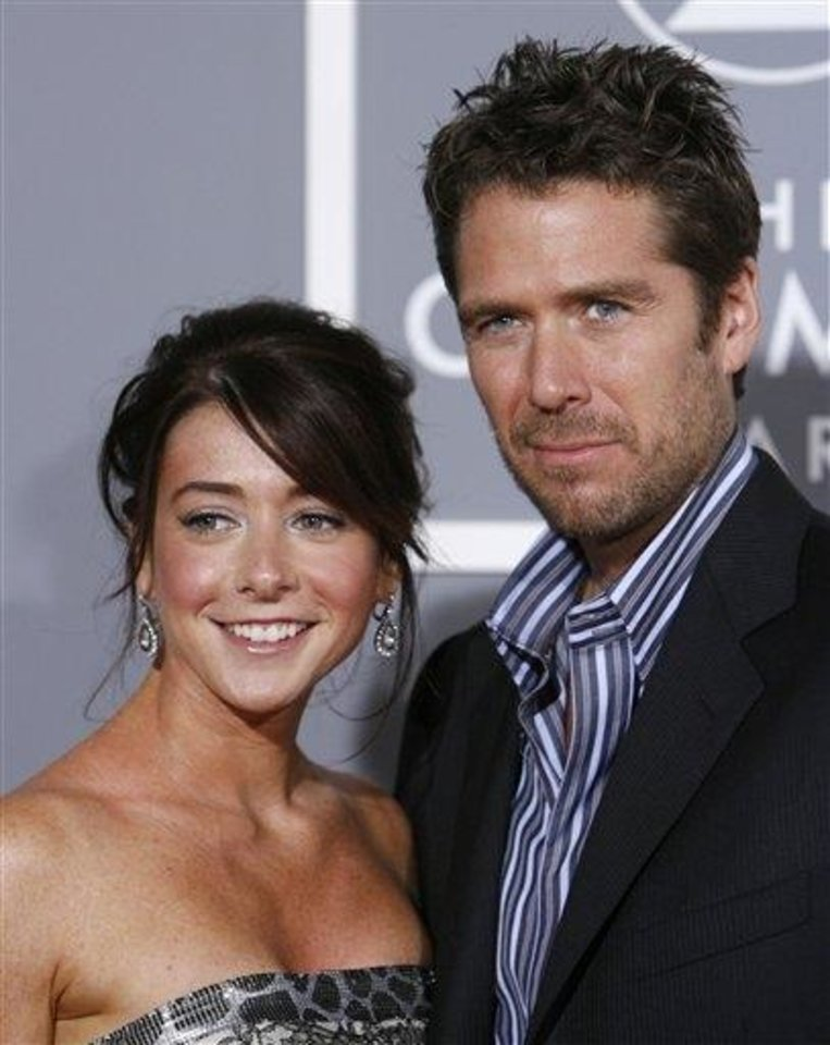 Photo -  Alyson Hannigan and Alexis Denisof (AP)