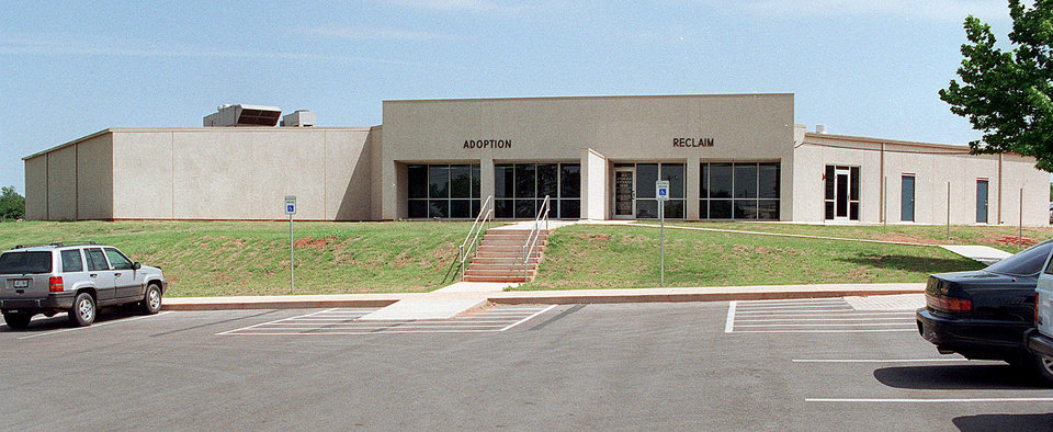 Photo - The Oklahoma City Animal Shelter began operating in this new building in 1996.OKLAHOMAN ARCHIVE PHOTO