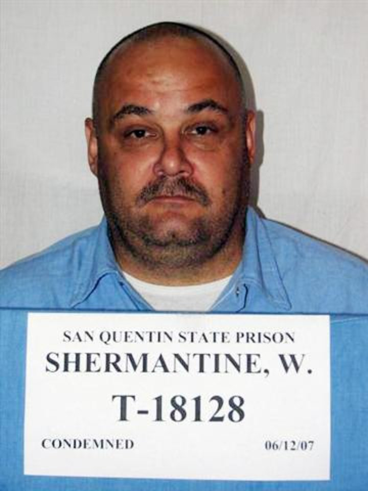 Photo -   FILE - In this undated file photo provided by the California Department of Corrections, Wesley Shermantine is shown. Information provided by the California death row inmate who was one of the two notorious