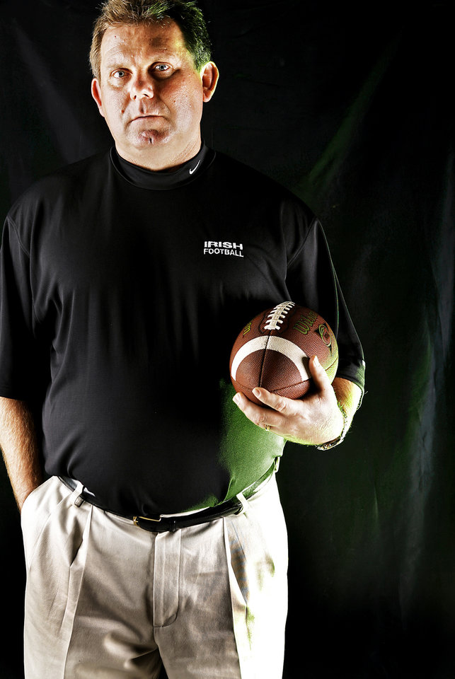 McGuinness High School coach Kenny Young All State Coach of the Year. by Chris Landsberger, The Oklahoman