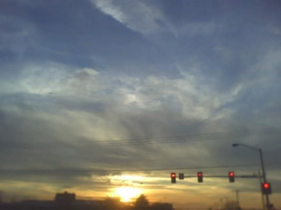 THE sun going down in MIDWEST City... SKY looks so pretty./ Community Photo By: Tama Submitted By: Tama, Midwest