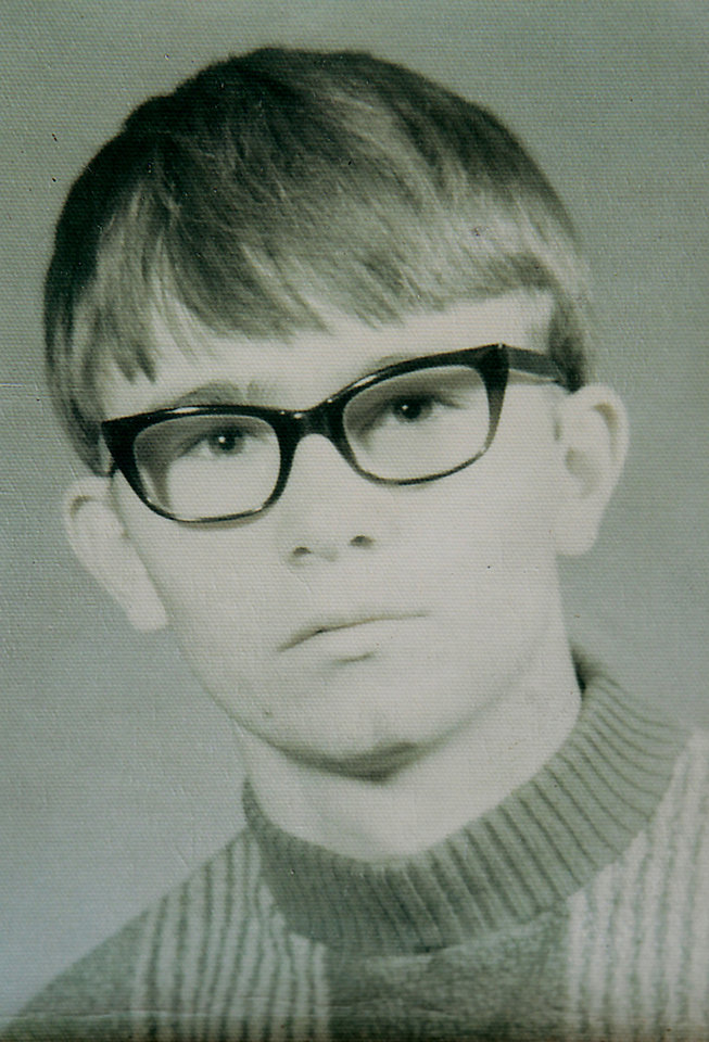 Photo - Copy of a school photo of Jimmy Allen Williams, who was 16 when he disappeared from Sayre in 1970.  David McDaniel - The Oklahoman