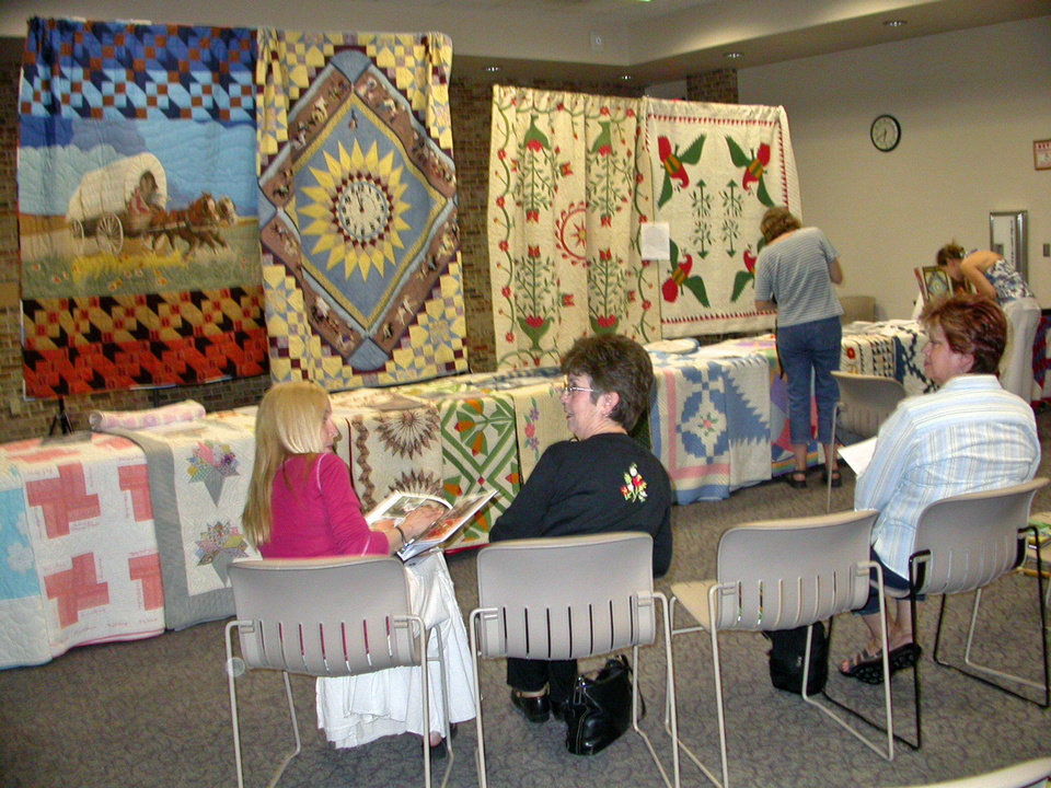 Centennial Quilt Trunk Show Program by Judy Howard<br/><b>Community Photo By:</b> Judy Howard<br/><b>Submitted By:</b> Judy, Okla. City, Okla