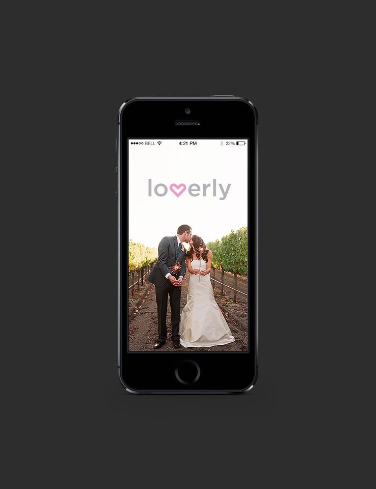 Photo - This undated photo shows the wedding app Loverly, which is billed as a one-stop-shop for the betrothed. Loverly offers shopping and planning platforms, as well as info on wedding trends, from 70's-style dresses to serving donuts. (AP Photo/Loverly)