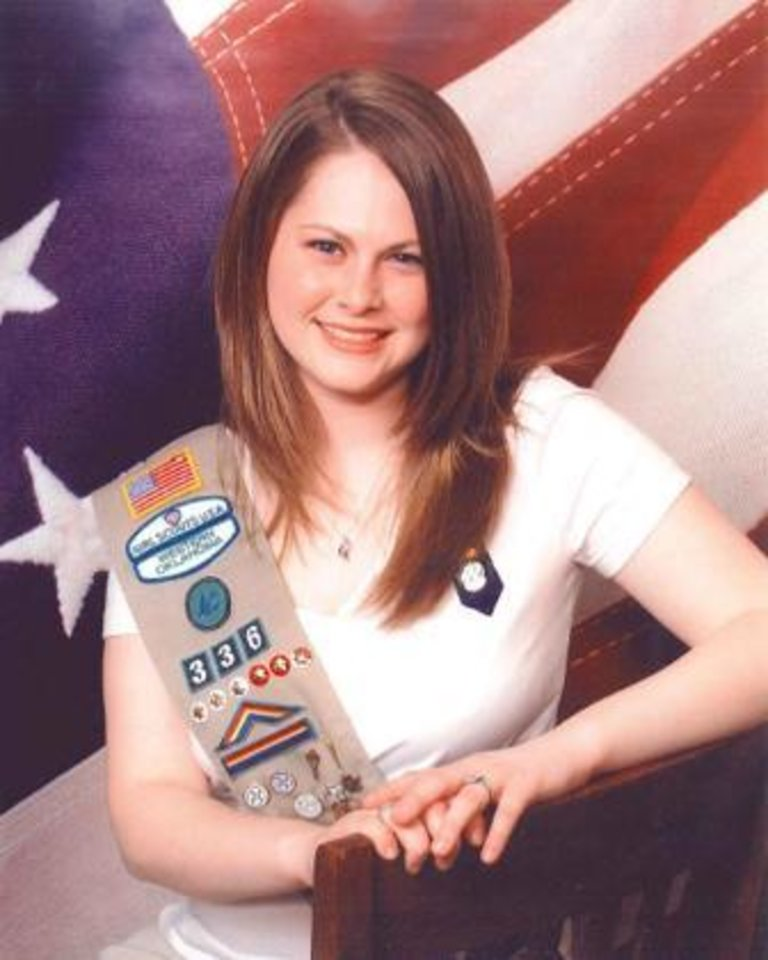Photo - Kathryn Francis, Girl Scout Gold Award winnerORG XMIT: 1004231852173876