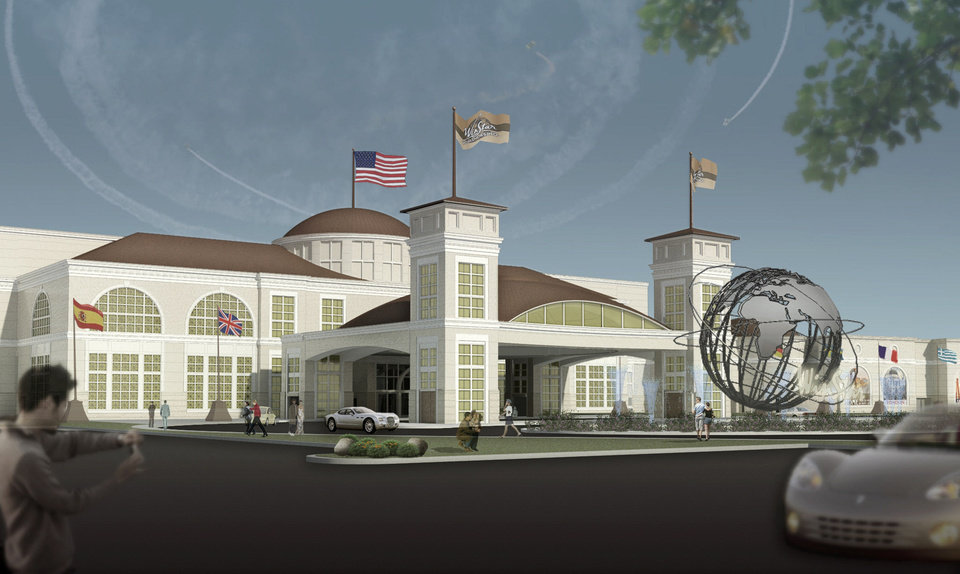 A rendering of the expanded WinStar World Casino in Thackerville. WinStar is the second largest casino in the world. <strong> - Provided</strong>