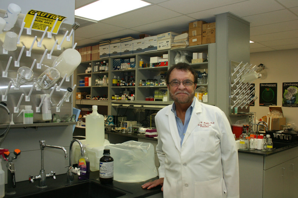 Photo - Robert Broyles, of Oklahoma City-based EpimedX, is working on a cure for sickle cell disease.  PHOTO PROVIDED