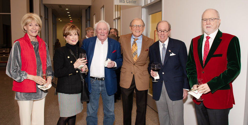 Photo - Marilyn Balyeat, Dindy Foster, Bill Loughridge, Len Cason, Mike Kelly and Bill Hawley. PHOTO PROVIDED