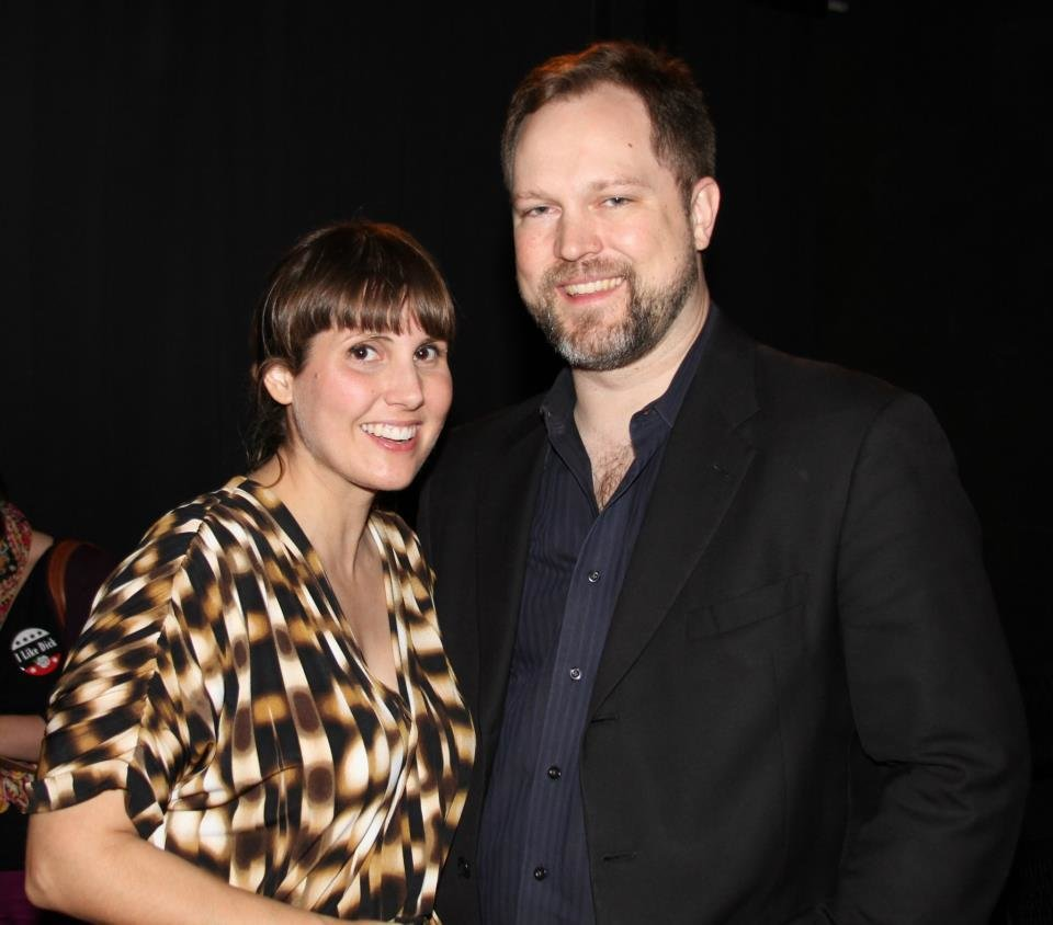 """Photo -  Reduxion Theatre Managing Director Erin Woods, left, and Artistic Director Tyler Woods appear at the opening for the company's 2012 production """"Richard III."""" Photo provided"""