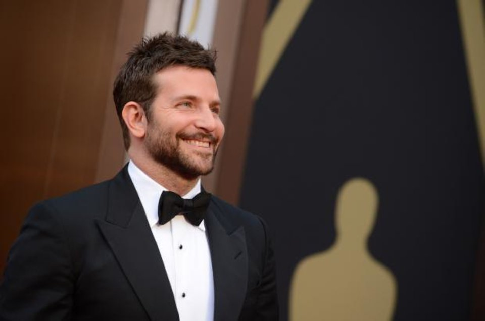 Photo -  Bradley Cooper looks awfully handsome at the Oscars. (AP)