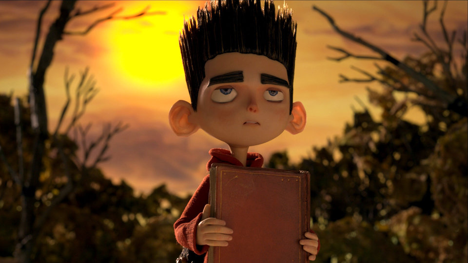 Photo -   This film image released by Focus Features shows the character Norman, voiced by Kodi Smit-McPhee, in the 3D stop-motion film,