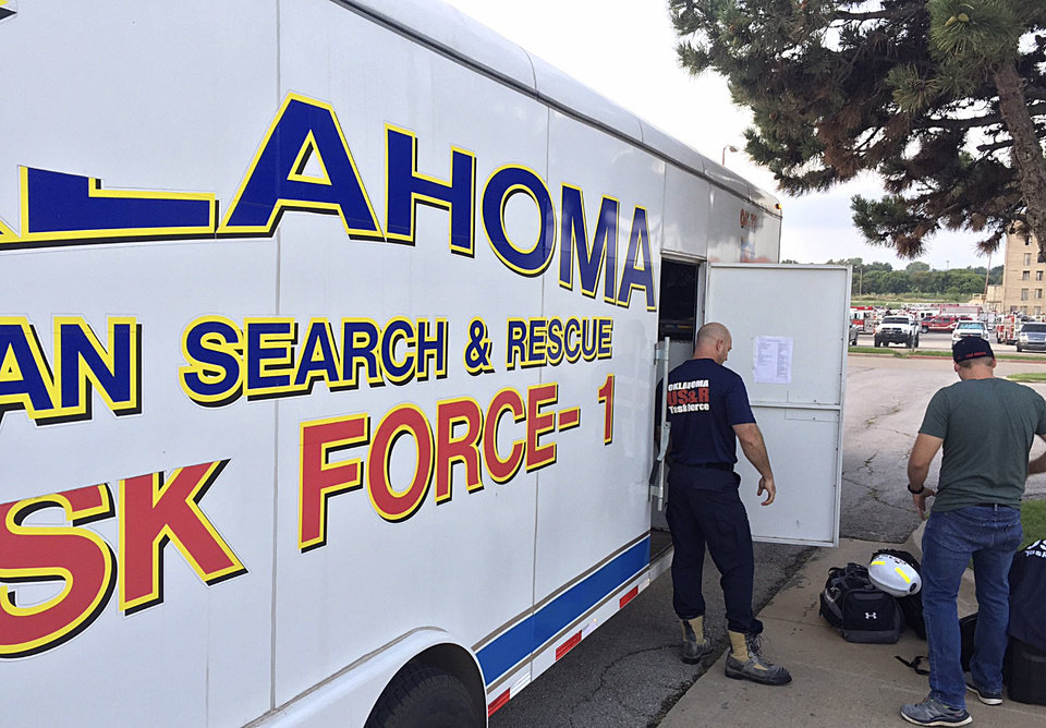 Photo -  Oklahoma is sending swift water rescue teams to Texas to assist in aftermath of Hurricane Harvey, Gov. Mary Fallin and the state Department of Emergency Management announced Monday. [Photo provided by Oklahoma City Fire Department]
