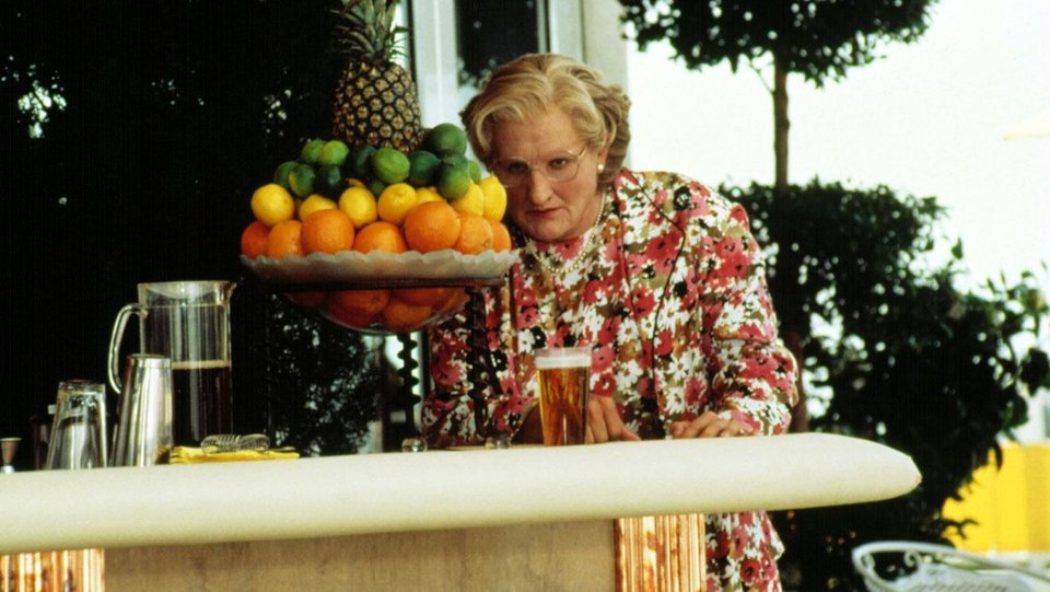 """Photo - Robin Williams appears in a scene from """"Mrs. Doubtfire."""" Photo provided by  20th Century Fox Film Corp."""