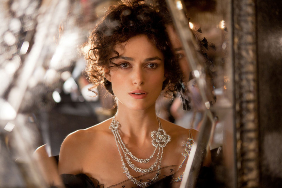 "FILE - This film publicity image released by Focus Features shows Keira Knightley in a scene from ""Anna Karenina."" (AP Photo/Focus Features, Laurie Sparham, File) ORG XMIT: CAPH617"