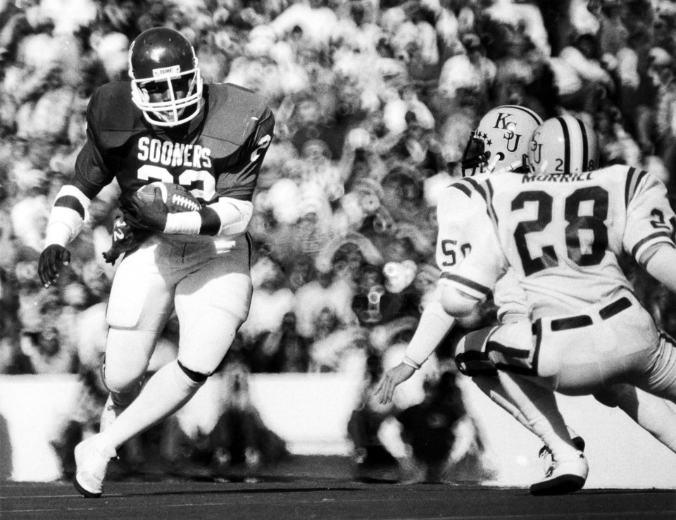 Photo - Former OU running back Marcus Depree is the subject of tonight's ESPN 30 for 30 premier of