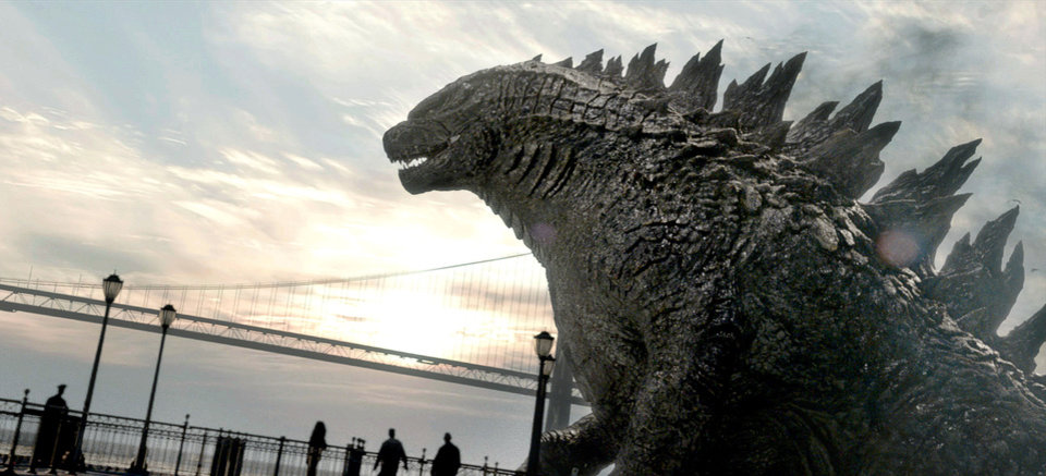 "This image released by Warner Bros. Pictures shows a scene from the film, ""Godzilla."" (AP Photo/Warner Bros. Pictures)"