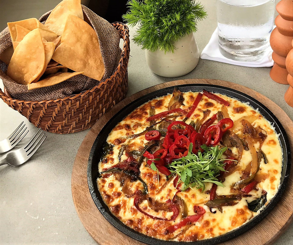 Photo - Queso Fundido from Frida Southwest, which opens Friday in the Paseo Arts District. [Dave Cathey/The Oklahoman]