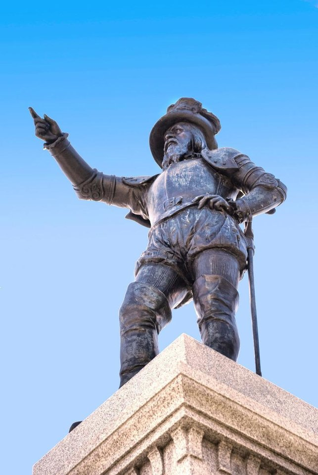 Photo - Ponce de Leon sited La Florida at 30 degrees 8 minutes, just of current day St. Augustine Coast on April 2, 1513.