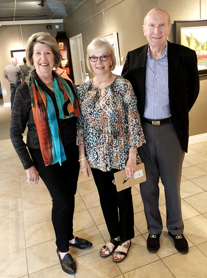 Photo - Lela Sullivan, Linda Howell, Mark Sullivan. PHOTO PROVIDED