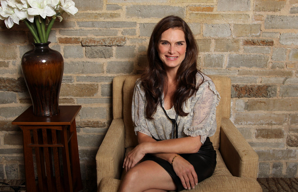 Photo -   This June 27, 2012, photo shows actress Brooke Shields, from the upcoming play