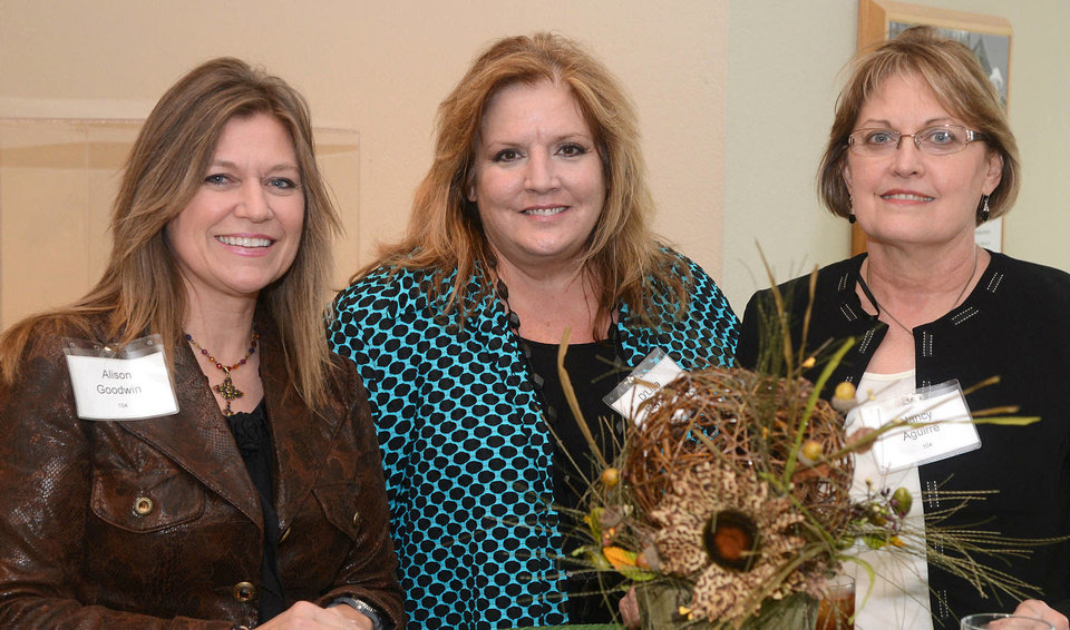 Photo - Alison Goodwin, D'Lisa Reynard, Nancy Aguirre. Photo by David Faytinger, for The Oklahoman