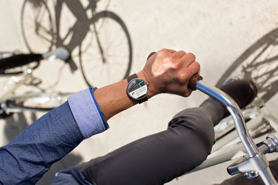 Photo -  The fitness tracker is powered by the Motorola Connect app, which comes pre-downloaded on the 360. It's a general tracker that monitors steps taken, heart rate and so on. It was accurate and retrieving information from it was painless and quick.   Photo provided