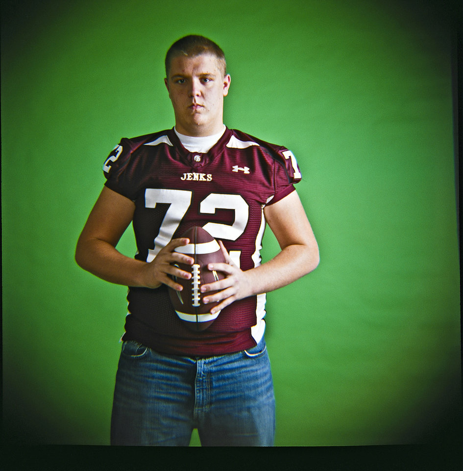 Bob Graham of Jenks High School on Monday, Dec. 14, 2009, in Oklahoma City, Okla.   Photo by Chris Landsberger, The Oklahoman