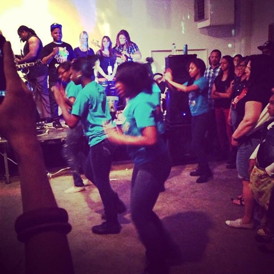 Stompin\' for Jabee at @stashgoods #nmf6 (From Statigram.com)